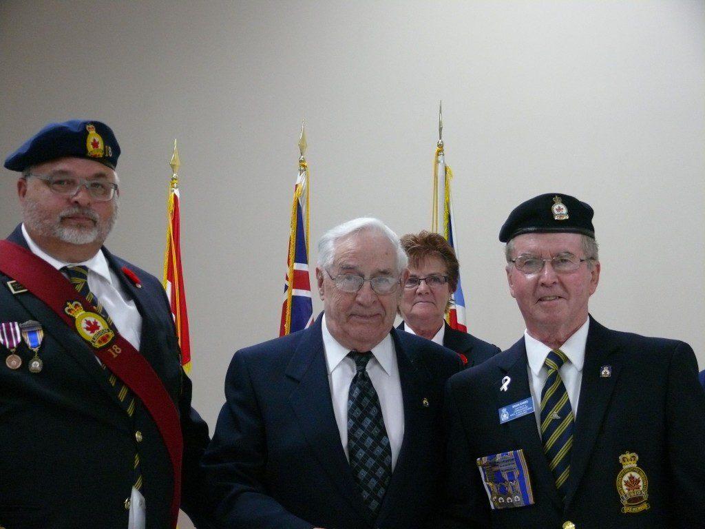 Quentin Sylvester 65 Year Service Pin